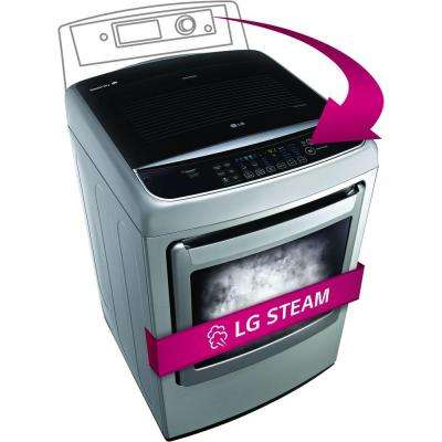 7.3 cu. ft. Gas Dryer with Steam in Graphite Steel