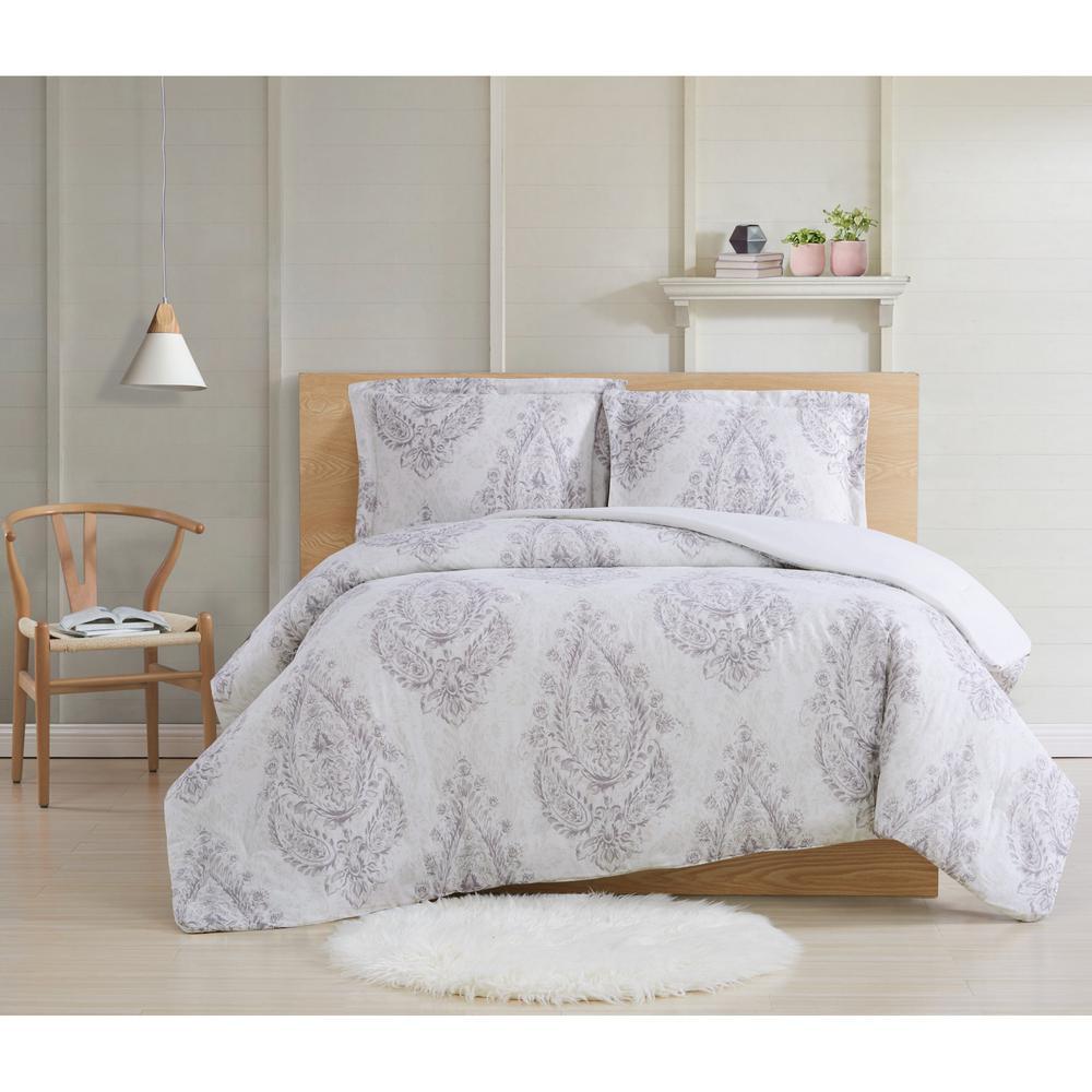 Paisley Blossom 2 Piece Twin XL Comforter Set