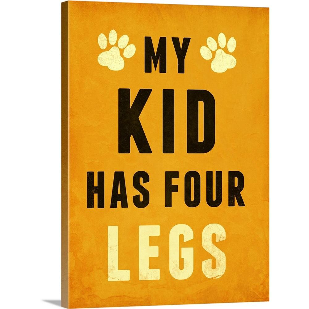 """Paw Kids III"" by SD Graphics Studio Canvas Wall Art"