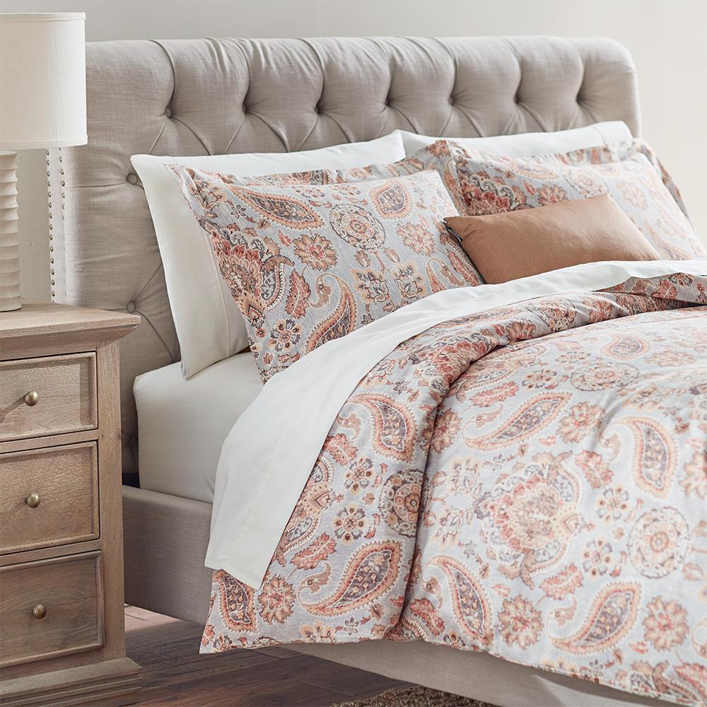 Home Decorators Collection Plazzo Seabreeze Queen Duvet