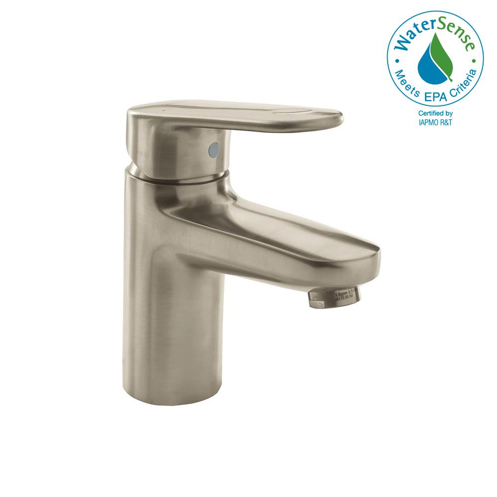 Grohe Europlus Single Hole Single Handle 1 2 Gpm Bathroom Faucet In Starlight Chrome 33170ena