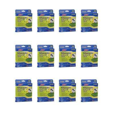 4 Mosquito Repellent Coils (12-Pack)