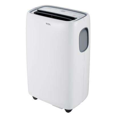 14,000 BTU Portable Air Conditioner with Heat in White