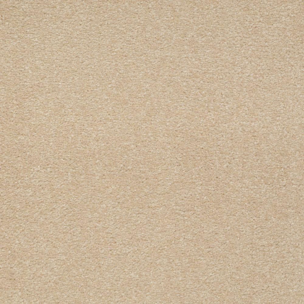 Platinum Plus Enraptured II - Color Chamois 12 ft. Carpet