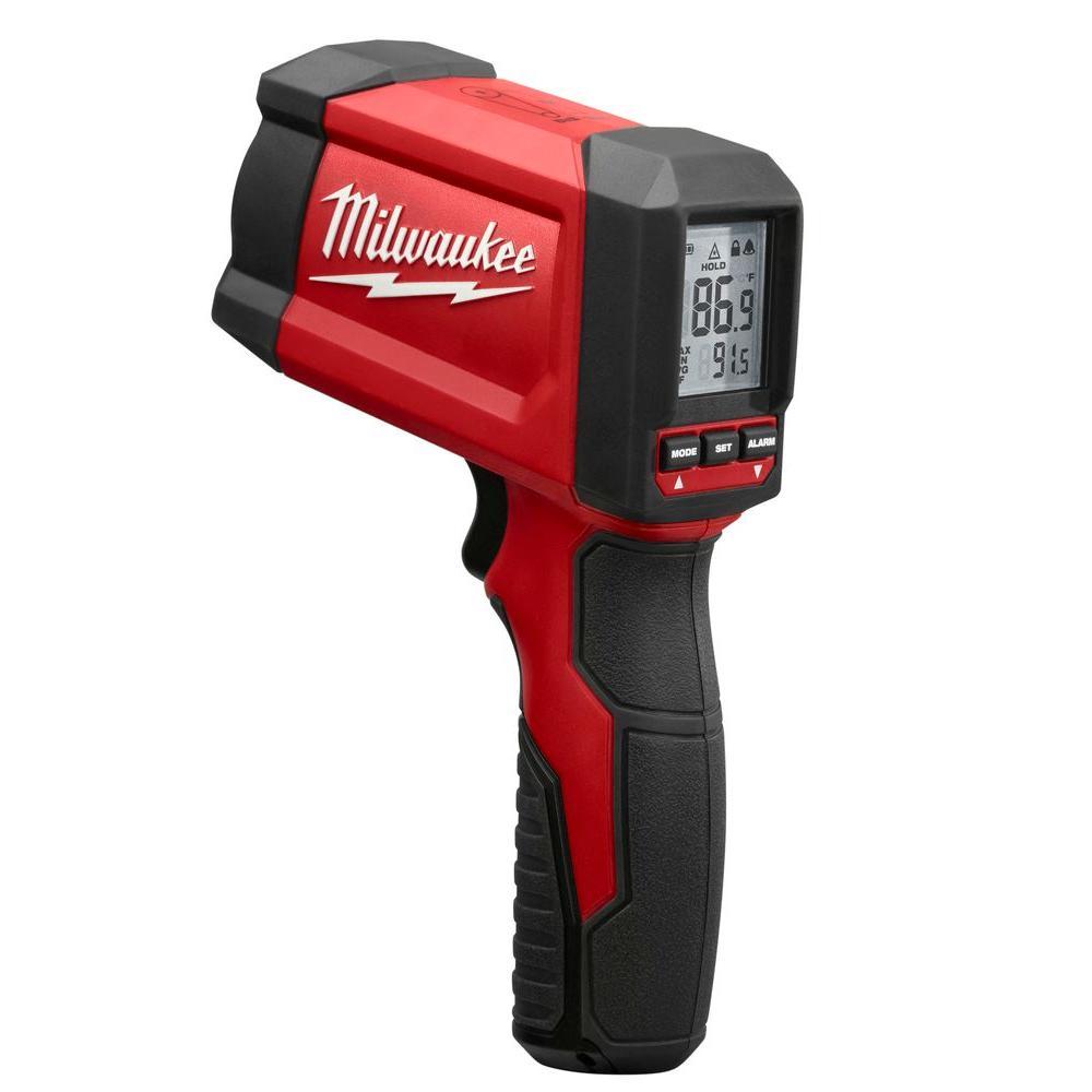 Laser Temperature Gun Infrared 12:1 Thermometer (NIST)