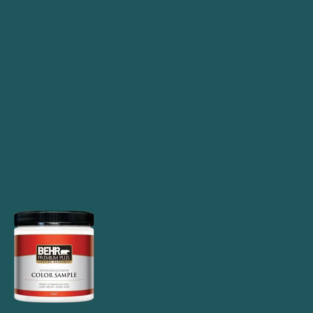 Ppf 56 Terrace Teal Flat Interior Exterior Paint And Primer In One Sample