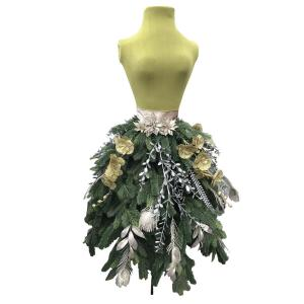 82cc703bf4 5 ft. Unlit Dress Artificial Christmas Tree-AVPA0731804THD - The ...