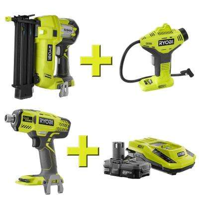 Brad Nailer, Inflator, Quiet Strike and Upgrade Kit