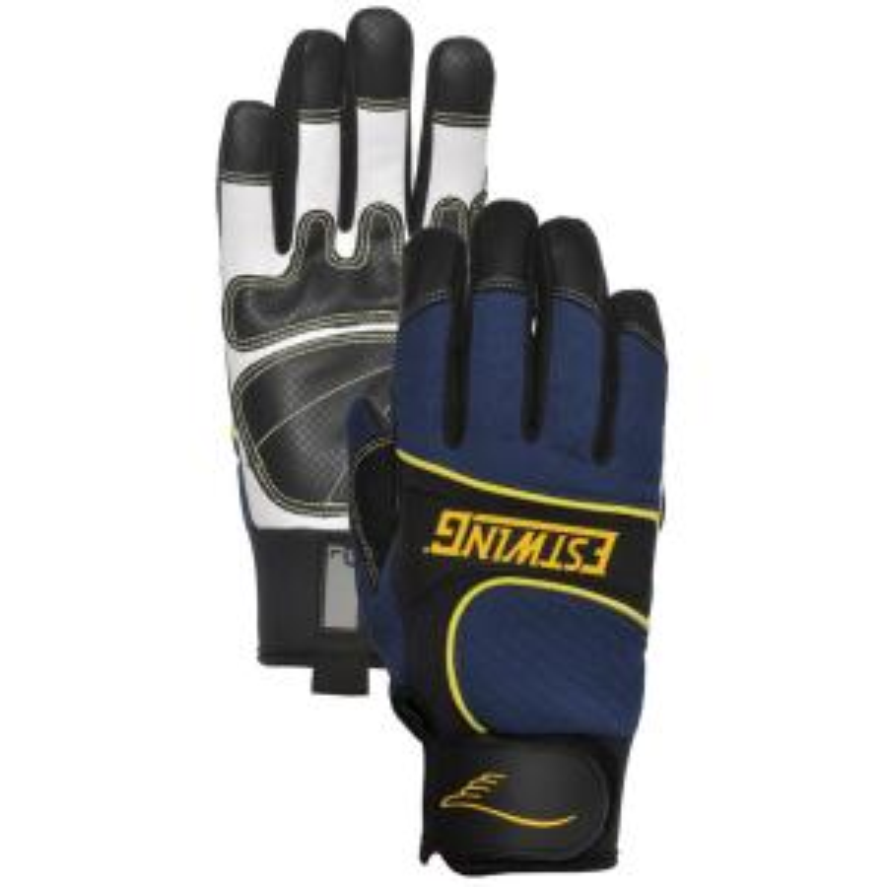 Estwing Goatskin Leather Palm Work Medium Glove by Estwing