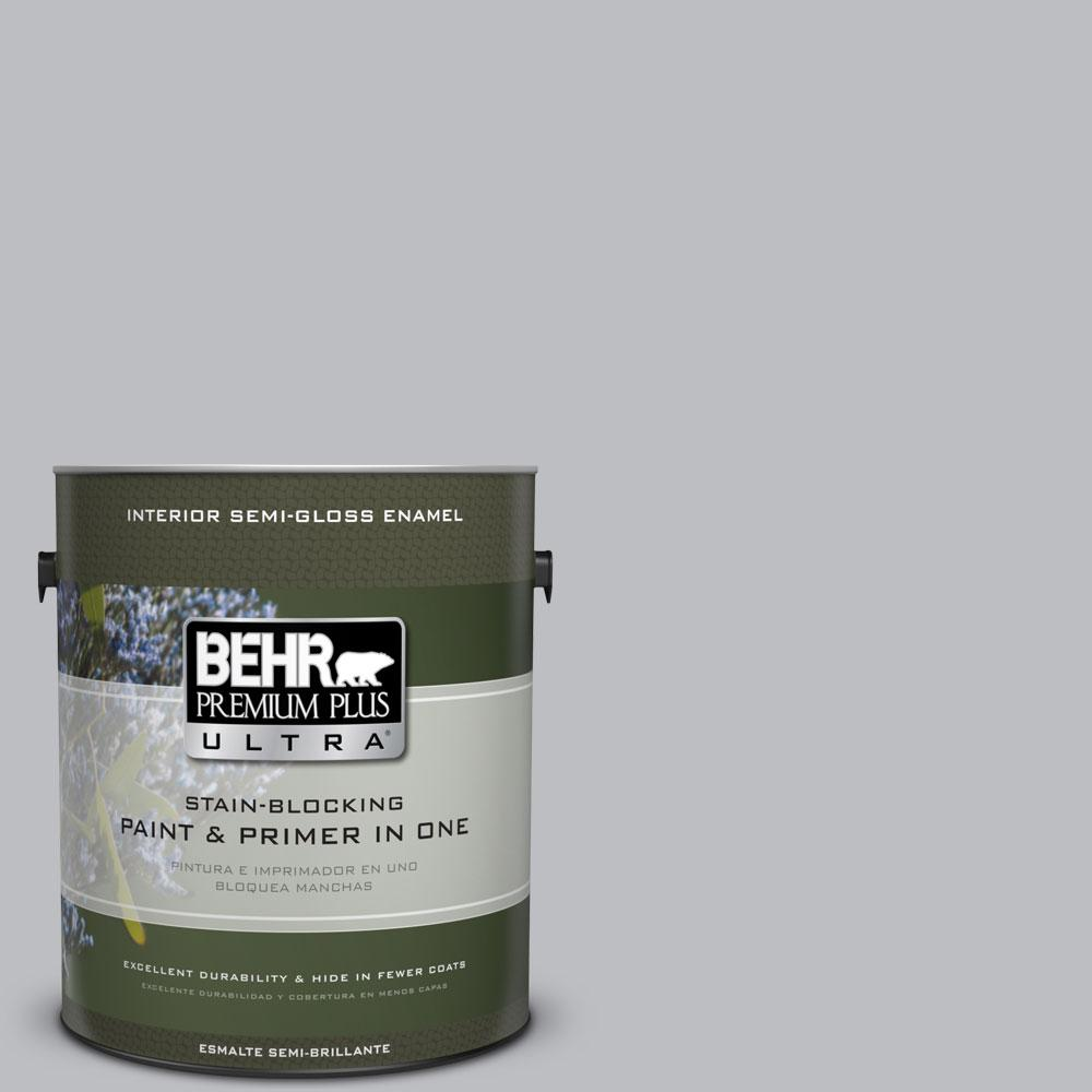 BEHR Premium Plus Ultra 1-gal. #N530-3 High Speed Access Semi-Gloss Enamel Interior Paint