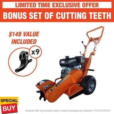 3.5 in. 14 HP Gas Powered Stump Grinder with Kohler Engine