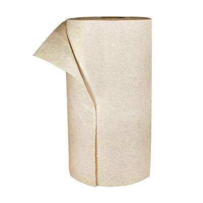 Oil Only Heavy-Duty 28.5 in. x 125 ft. Absorbent Roll (1 Roll per Case)