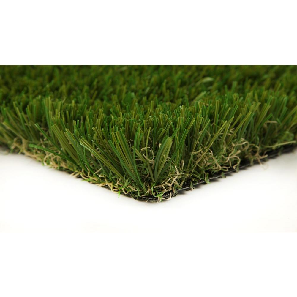 GREENLINE Classic Premium 65 Fescue 3 ft. x 8 ft. Artificial Synthetic Lawn Turf Grass Carpet for Outdoor Landscape