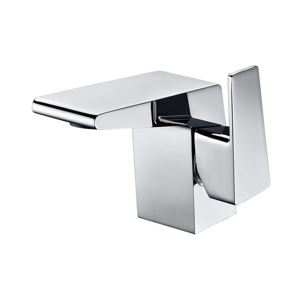 AB1470-PC Single Hole Single-Handle Bathroom Faucet in Polished Chrome