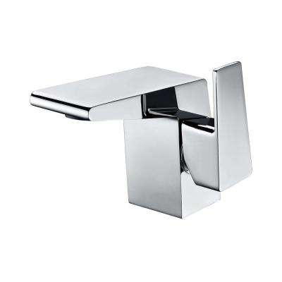 AB1470-PC Single Hole Single-Handle Bathroom Faucet in Polished Chrome