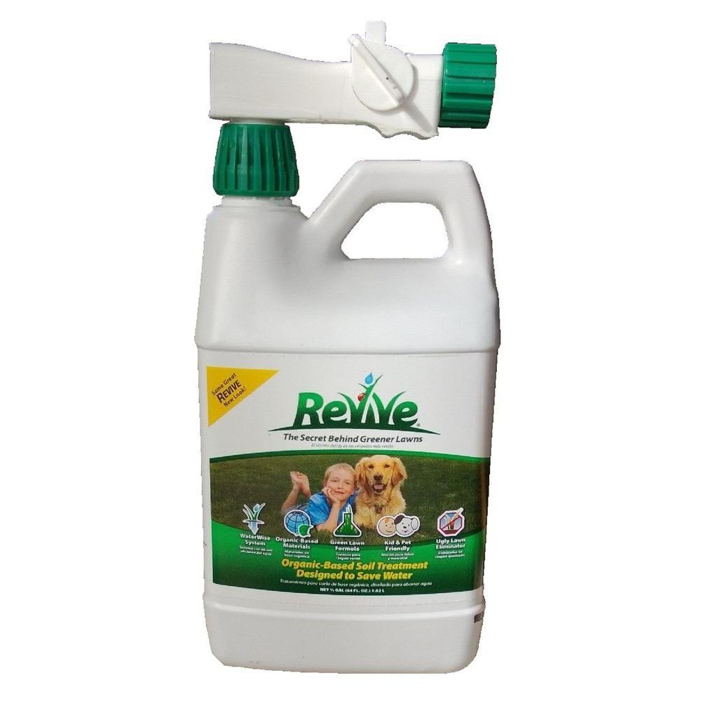 Revive 64 Oz Organic Soil Lawn Treatment 100046745 The Home Depot