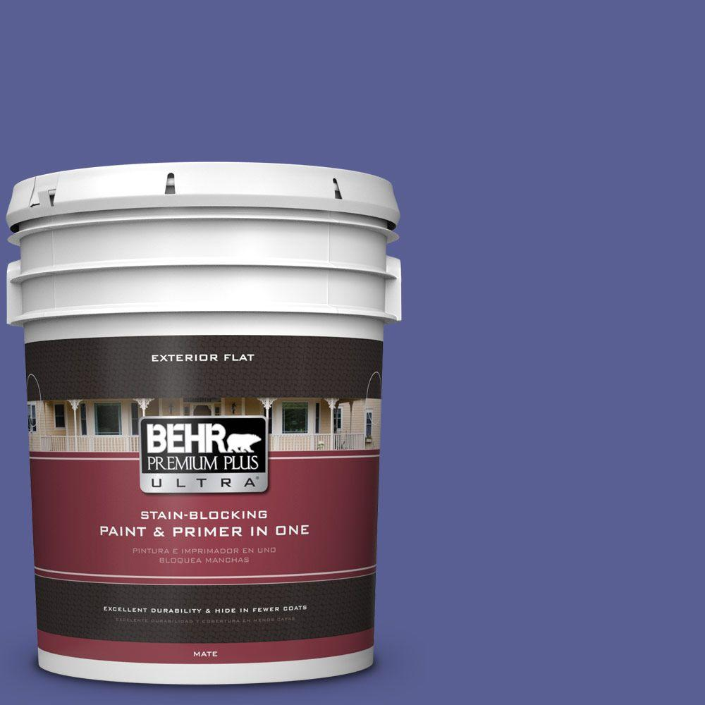 BEHR Premium Plus Ultra 5-gal. #S-G-620 Wizard Flat Exterior Paint