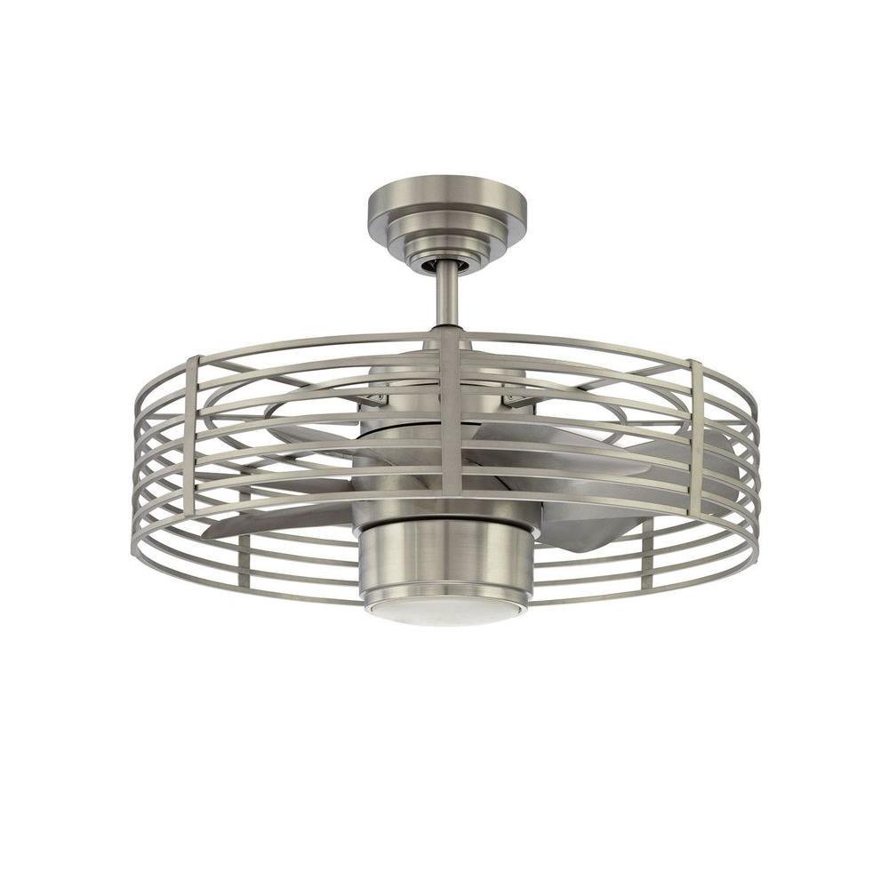 Filament Design Cassiopeia 23 in. Satin Nickel Indoor Ceiling Fan