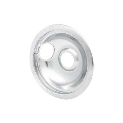 6 in. Drip Bowl in Chrome - Fits Most