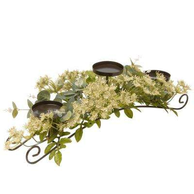 25 in. Dill Blossom Candle Holder