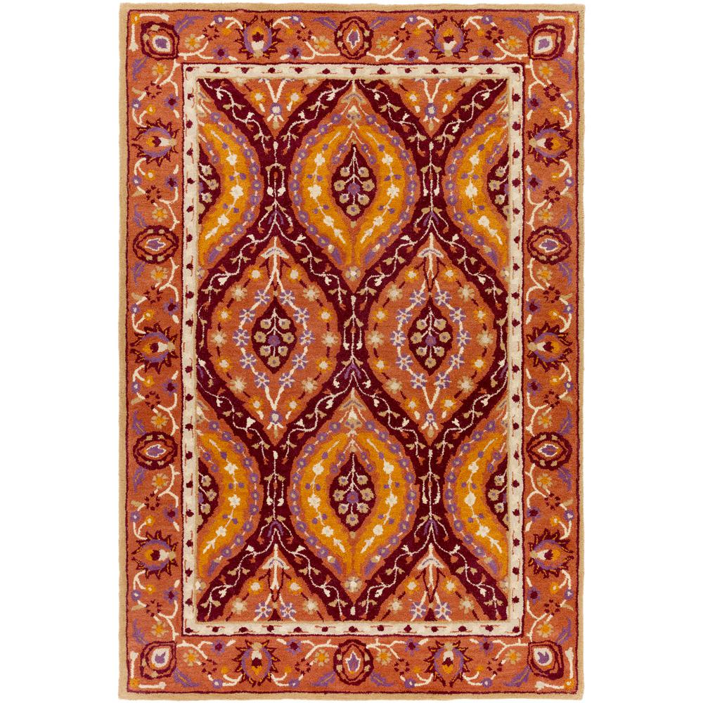 Artistic weavers mauritius burgundy 8 ft x 10 ft indoor for Gardening tools mauritius