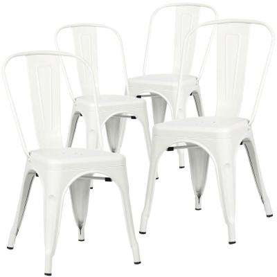 Trattoria White Side Chair (Set of 4)