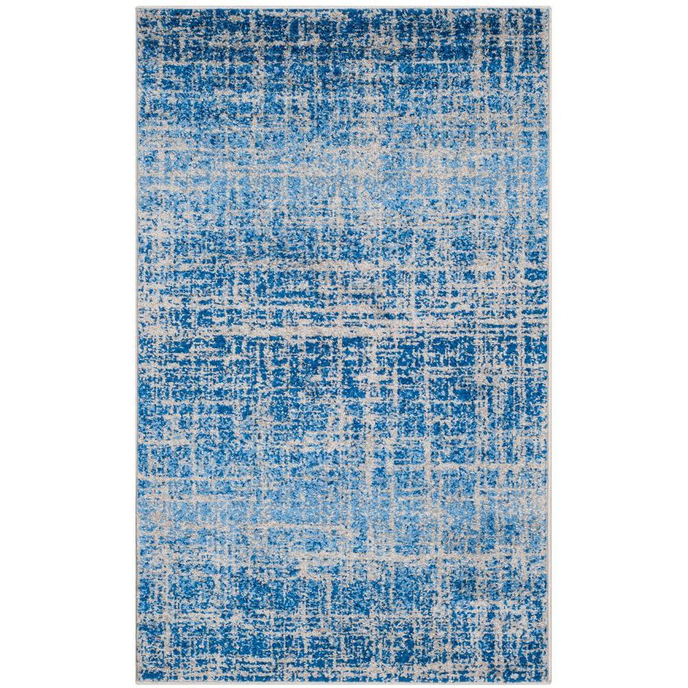 Safavieh Adirondack Blue Silver 8 Ft X 10 Ft Area Rug