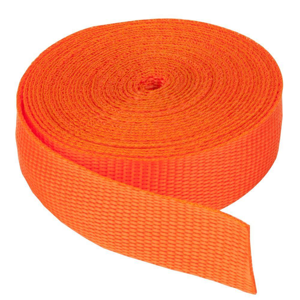 3/4 in. Webbing Strap, Orange