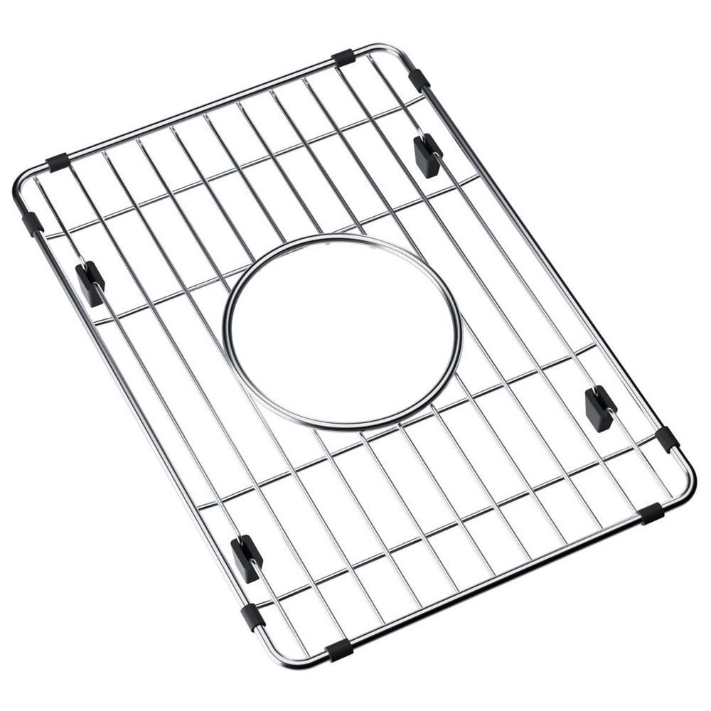 Fireclay Kitchen Sink Bottom Grid - Fits Bowl Size 10.43 in. x 14.56 in.
