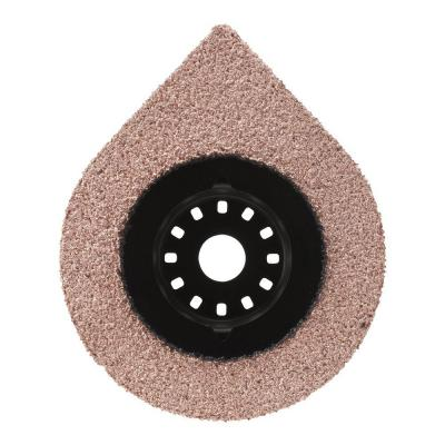 2-1/2 in. x 1-1/8 in. Carbide Grit Kerf Hybrid Grout Oscillating Tool Blade
