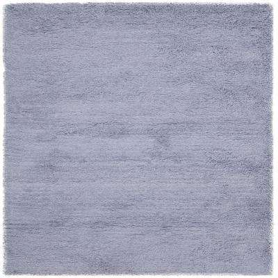 Classic Shag Lilac 6 ft. x 6 ft. Square Area Rug