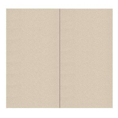 64 sq. ft. Birch Fabric Covered Full Kit Wall Panel