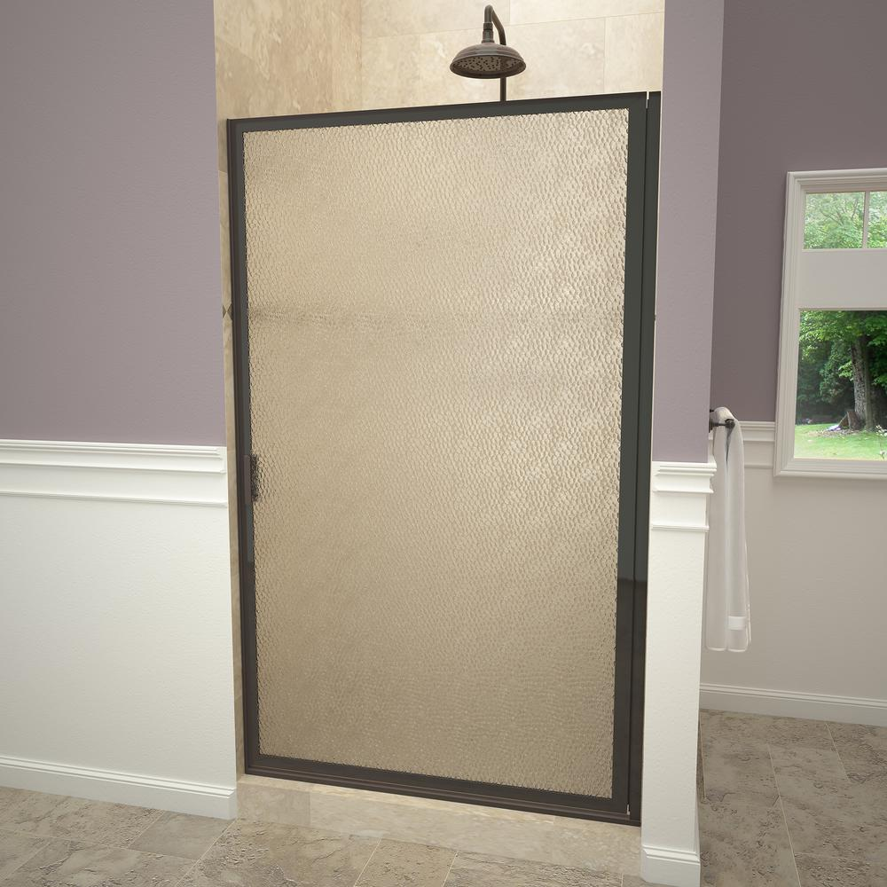 Redi swing 1100 series 33 3 4 in w x 63 1 2 in h framed - Obscure glass windows for bathrooms ...