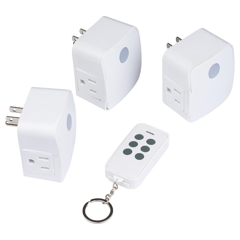 Westek 1 amp to 15 amp 1-outlet indoor wireless remote control.