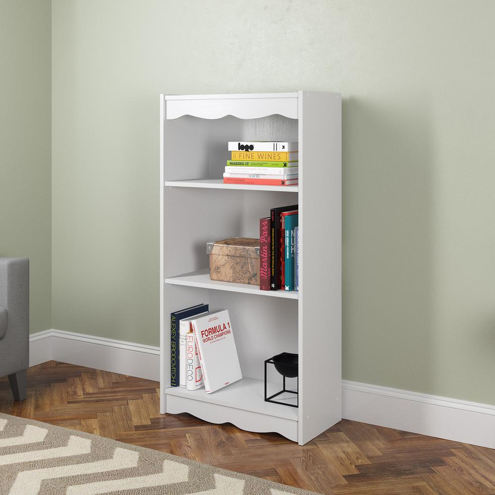 Frost White Tall Bookcase