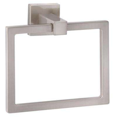Electra Towel Ring in Satin Nickel