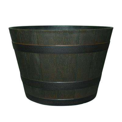 Barrel Planters Planters The Home Depot