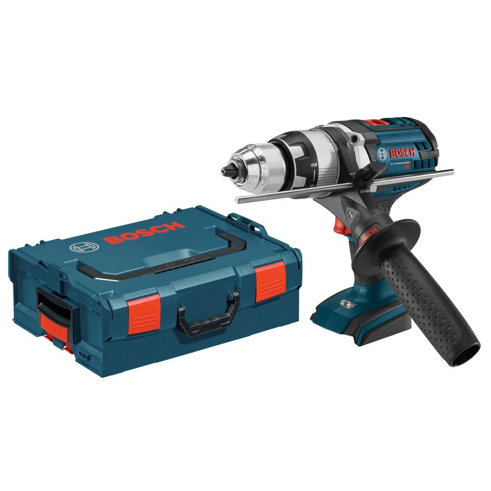 Bosch 18 Volt Lithium-Ion Cordless 1/2 in. Variable Speed Tough Hammer Drill/Driver Kit with Hard Case (Tool-Only)