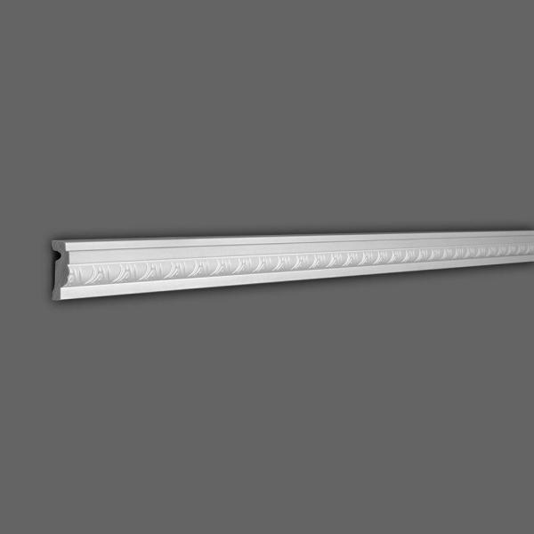 American Pro Decor 2 In X 5 8 In X 6 In Long Egg And Dart Recycled Polystyrene Panel Moulding Sample 5apd11199 The Home Depot