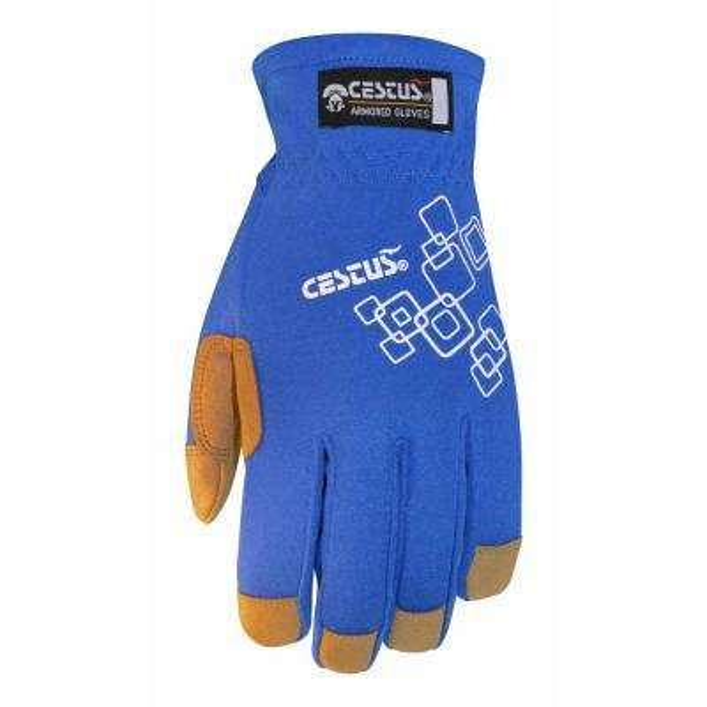 2XL Blue GenUEZ Fit Gloves