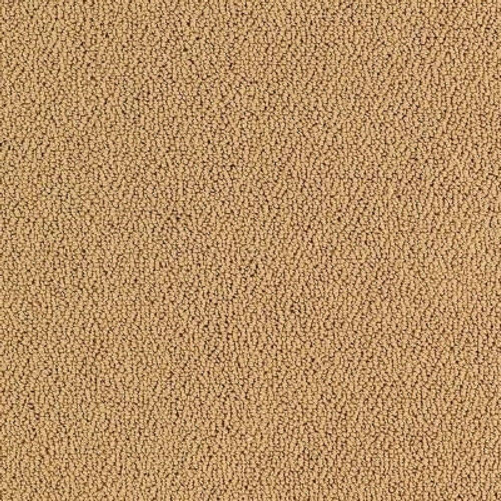 Carpet Sample - Lower Treasure - Color Midas Loop 8 in. x 8 in.