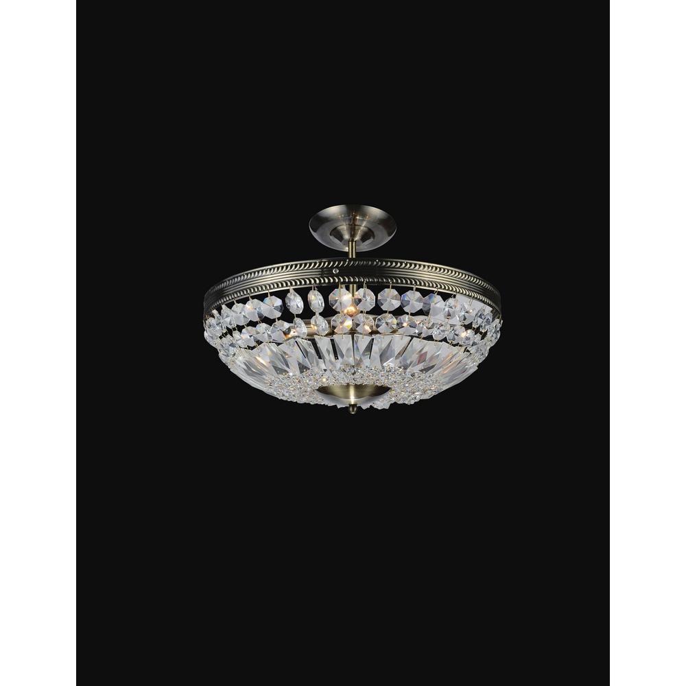 Cornelius 3-Light Antique Brass Pendant