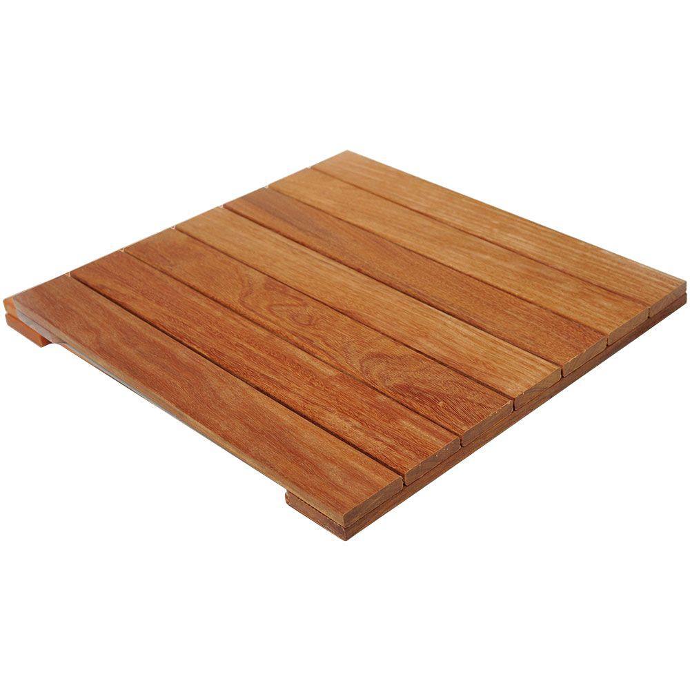 Ft cumaru tropical hardwood deck tile