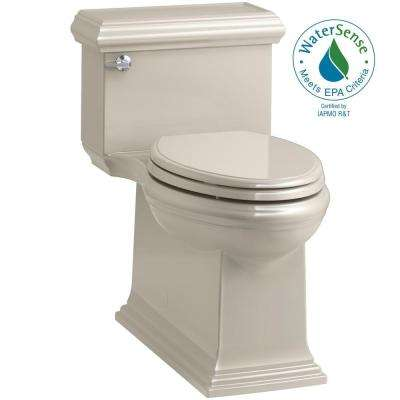 Memoirs Classic 1-Piece 1.28 GPF Single Flush Elongated Toilet in Sandbar