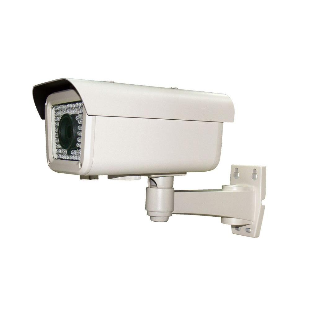 Wired 700 TVL 1/3 in. 960H CCD Indoor or Outdoor Bullet