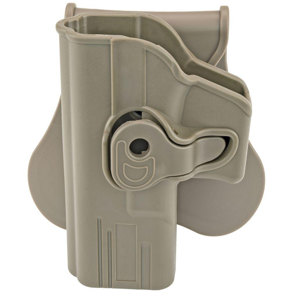 Boomstick Gun Accessories FDE Holster Fits Glock 19, 23, 32 (Gen 1,2,3,4)  Left Hand