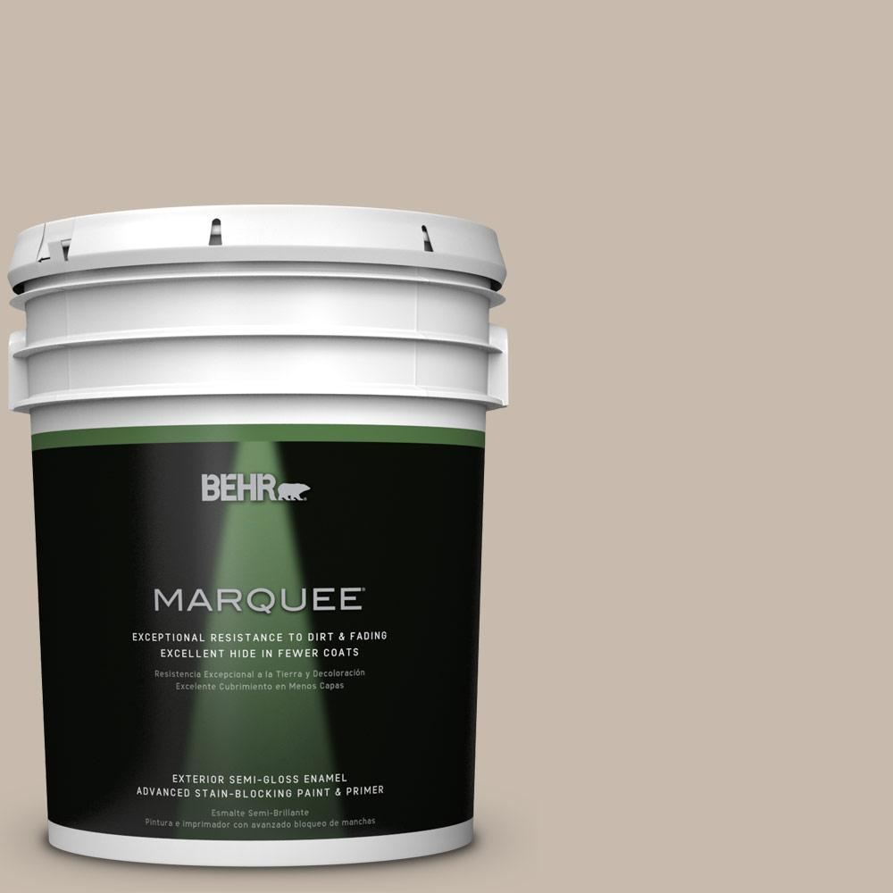 5-gal. #ECC-44-1 Barley Field Semi-Gloss Enamel Exterior Paint