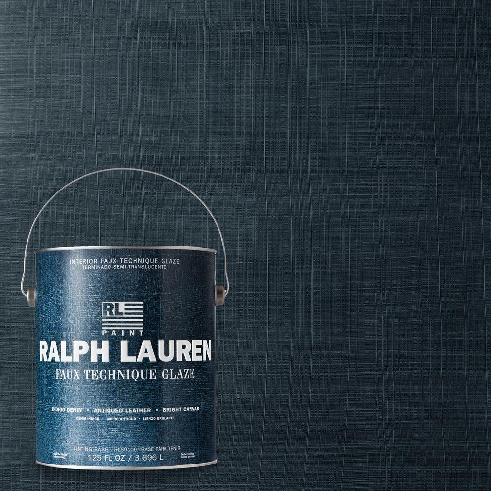 Ralph Lauren 1-gal. Blue Print Indigo Denim Specialty Finish Interior Paint