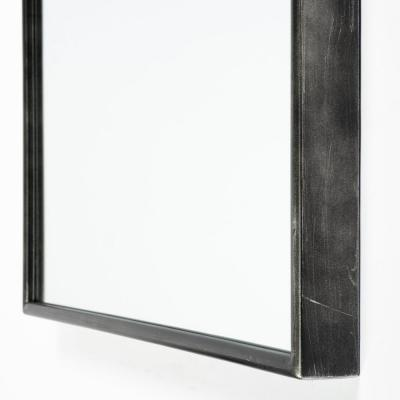 Oversized Arch Black Classic Mirror (70.0 in. H x 28.0 in. W)