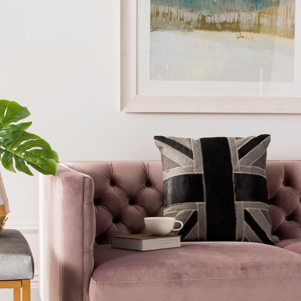 Bristol Cowhide Standard Pillow